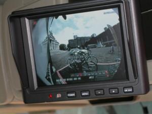 In cab camera