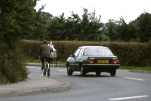 The bends on the Havant Road in 1984