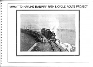 The railway path proposal