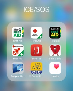 iPhone First Aid apps